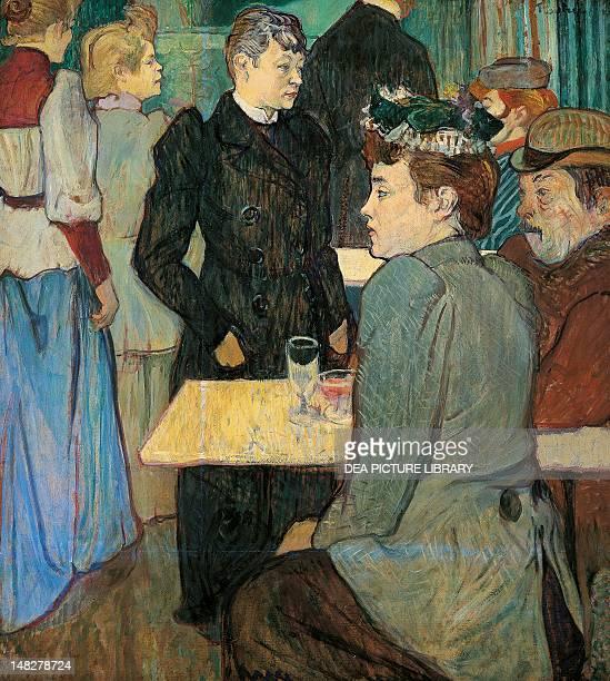 Corner of the Moulin de la Galette by Henri de Toulouse Lautrec 100 x89 cm Washington National Gallery Of Art