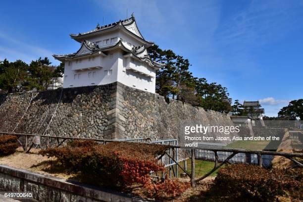 Corner Towers and Moat of Nagoya Castle, Nagoya, Japan