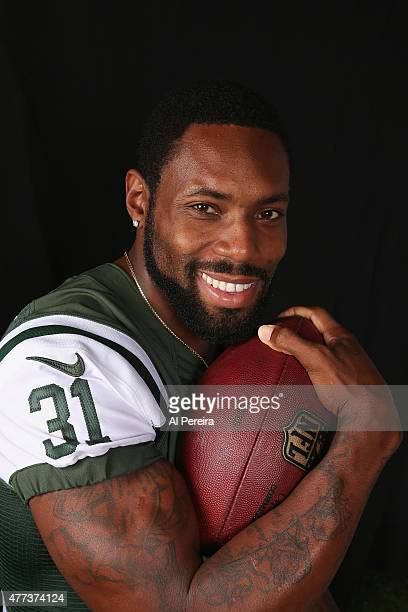 Cornerback Antonio Cromartie of the New York Jets appears in a portrait on June 16 2015 in Florham Park New Jersey