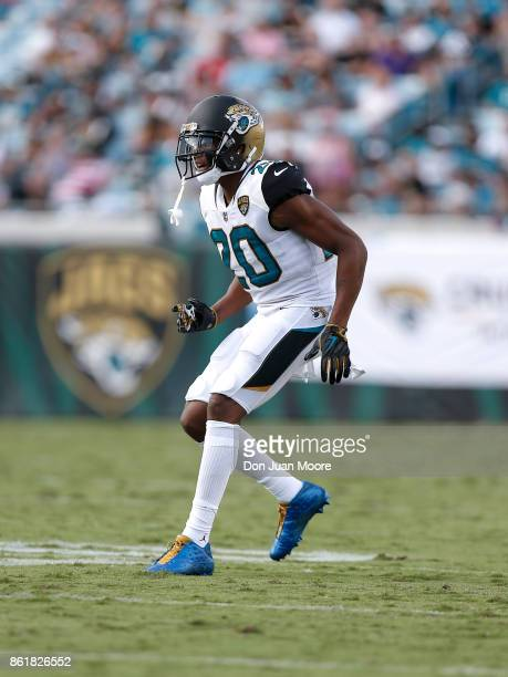 Cornerback Jalen Ramsey of the Jacksonville Jaguars during the game against the Los Angeles Rams at EverBank Field on October 15 2017 in Jacksonville...