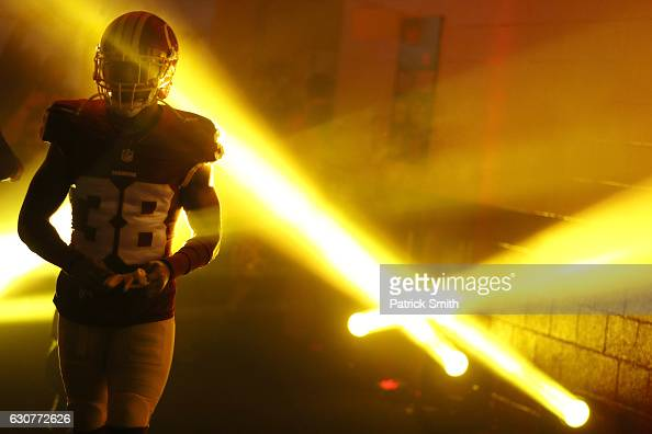 Cornerback Kendall Fuller of the Washington Redskins walks onto the field prior to a game against the New York Giants at FedExField on January 1 2017...