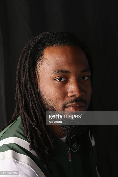 Cornerback Marcus Williams of the New York Jets appears in a portrait on June 16 2015 in Florham Park New Jersey