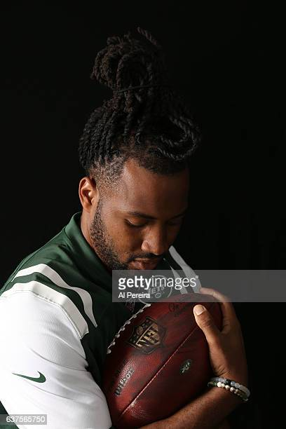 Cornerback Marcus Williams of the New York Jets appears in a portrait taken in 2016 in Florham Park New Jersey