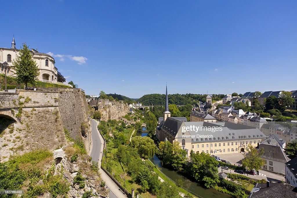 Corniche and Grund district, Luxembourg City