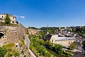 Corniche and Grund district, Luxembourg City