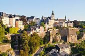 Corniche and Luxembourg Centre, Luxembourg City