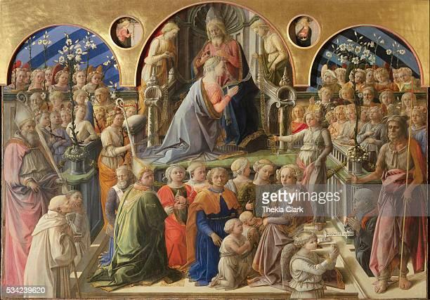 Coronation of the Virgin by Filippo Lippi