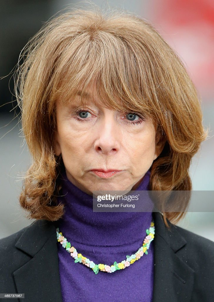 Coronation St actress Helen Worth, who plays the soap character Gail Platt, arrives at Preston Crown Court ahead of giving evidence in the trial of William Roache on January 29, 2014 in Preston, Lancashire. Coronation Street star William Roache, who plays the character Ken Barlow on the ITV soap, is charged with two rape and four indecent assault allegations which relate to incidents between 1965 and 1971.