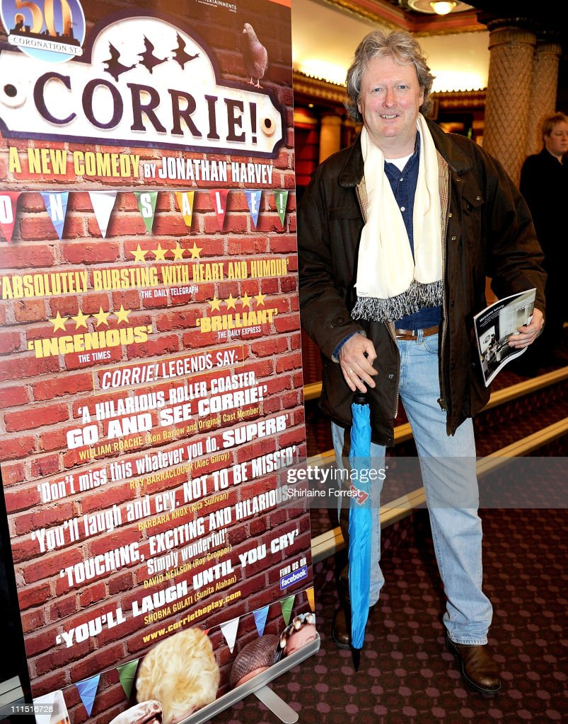 'Coronation Street' actor Charlie Lawson attends the press night of 'Corrie! The Play' at Manchester Palace Theatre on April 4, 2011 in Manchester, England.