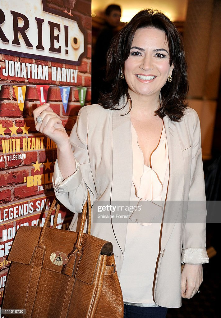 'Coronation Street' actress Debbie Rush attends the press night of 'Corrie! The Play' at Manchester Palace Theatre on April 4, 2011 in Manchester, England.