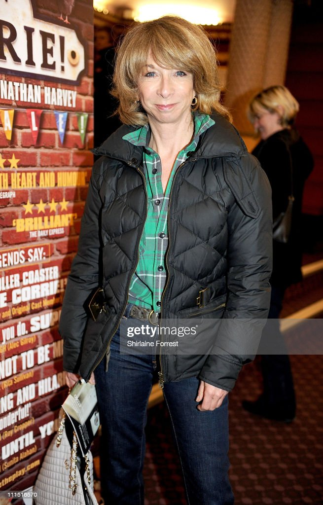 'Coronation Street' actress Helen Worth attends the press night of 'Corrie! The Play' at Manchester Palace Theatre on April 4, 2011 in Manchester, England.