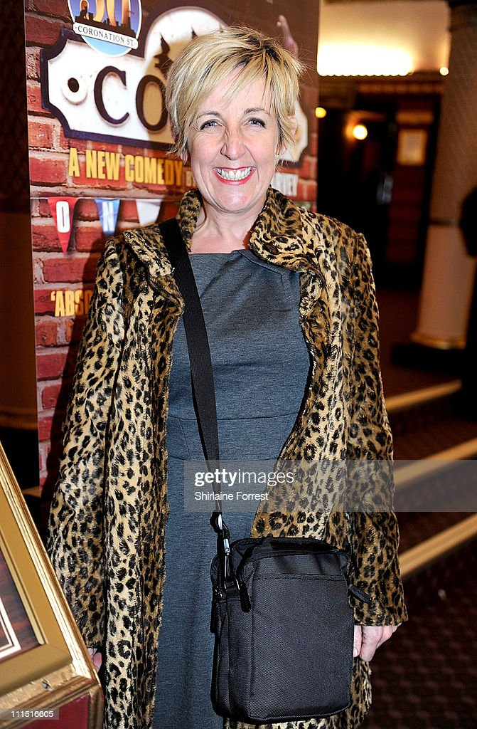 'Coronation Street' actress Julie Hesmondhalgh attends the press night of 'Corrie! The Play' at Manchester Palace Theatre on April 4, 2011 in Manchester, England.