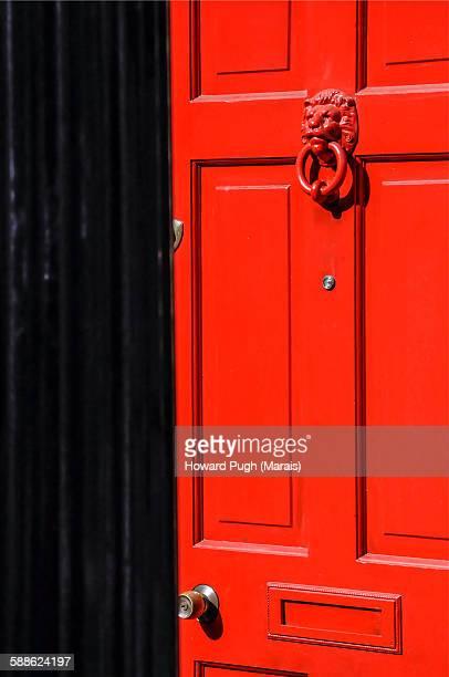 A coronation street door