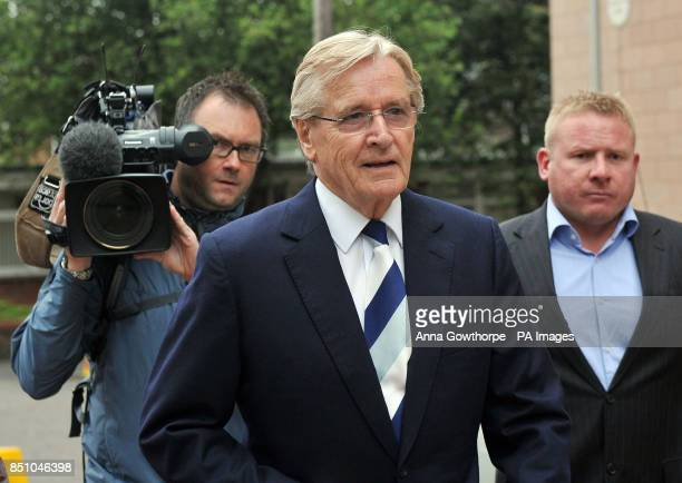 Coronation Street star Bill Roache arrives at Preston Crown Court where he is accused of historic sexual offences against five girls PRESS...