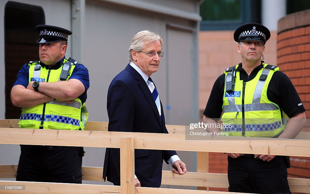 Coronation Street Star <a gi-track='captionPersonalityLinkClicked' href=/galleries/search?phrase=William+Roache&family=editorial&specificpeople=680441 ng-click='$event.stopPropagation()'>William Roache</a> arrives at Preston Crown Court on June 10, 2013 in Preston, Lancashire, United Kingdom. Coronation Street star Roache who plays the character Ken Barlow on the ITV soap, appears charged with two counts of rape involving a 15-year-old girl. The offences allegedly took place between April and July 1967. Roache is also charged with five counts of indecent assault against four girls between the ages of 11 or 12 and 16. Three of the offences allegedly took place in 1965 and two in 1968.