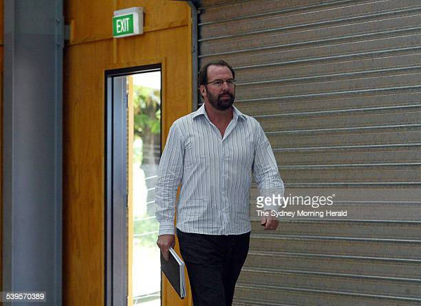 Coroner Michael Barnes at the Coronial Inquest into the death of Indigenous Palm Island local Cameron Doomadgee on Monday 28 February 2005 Cameron...