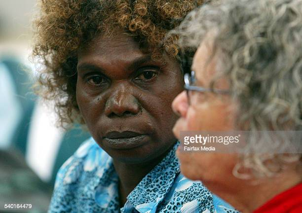 Coronial inquest into the death of Palm Island man Cameron Doomadgee who died while in police custody in November 2004 Camerons sister Elizabeth...