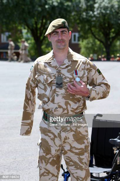 Corporal Andrew Reid joined his fellow soldiers from the 3rd Battalion The Yorkshire Regiment as they received medals from the Duke of Wellington at...