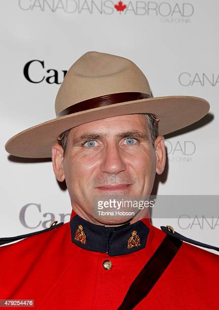 Corporal Jeff Peters attends the Canada Day in LA party at on July 1 2015 in Santa Monica California