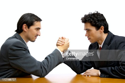 Corporate arm wrestling