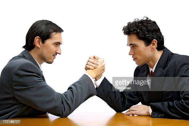 Corporate arm wrestling