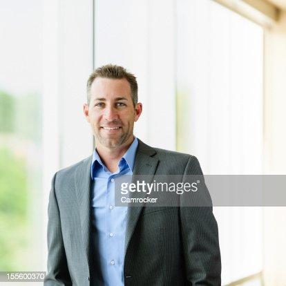 Corporate Businessman Portrait