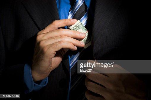Corporate Corruption : Stock Photo