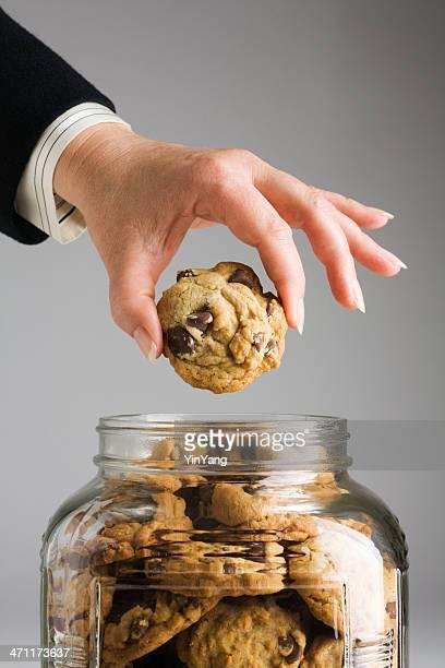 Corporate Hand in Cookie Jar