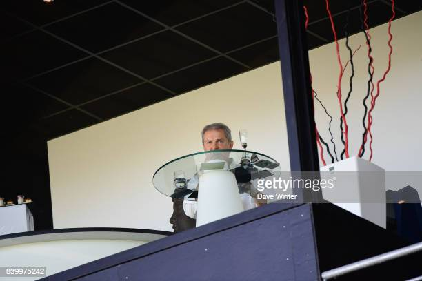 Corporate hospitality box during the Ligue 1 match between Angers SCO and Lille OSC at Stade Raymond Kopa on August 27 2017 in Angers
