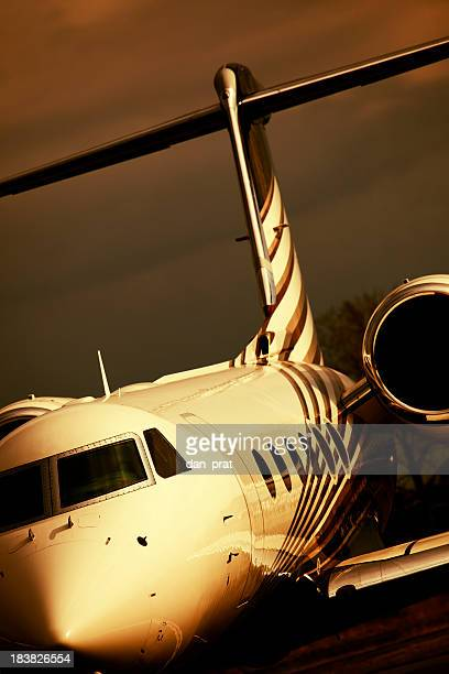 Corporate Jet Abstract