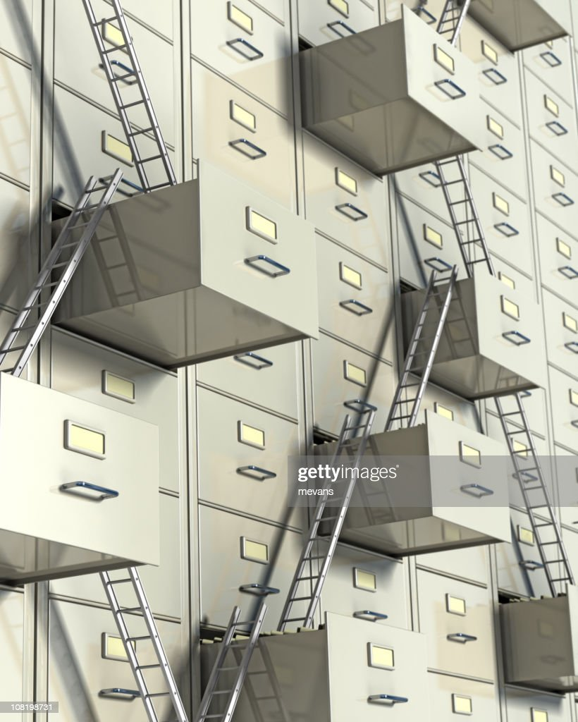 Corporate Ladder : Stock Photo