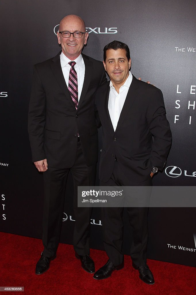Corporate Marketing Manager at Lexus Brian Bolain and The Weinstein Company COO David Glasser attend the 'Life is Amazing' Lexus Short Films Series at SVA Theater on August 6, 2014 in New York City.