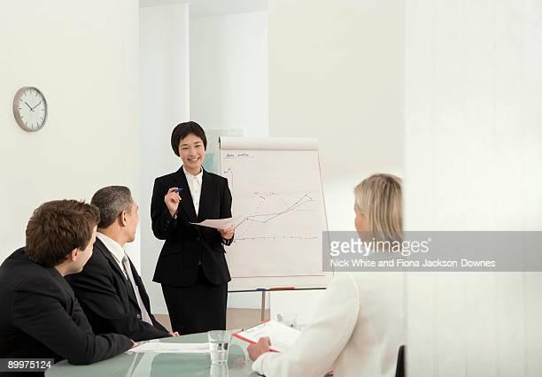 A corporate presentation