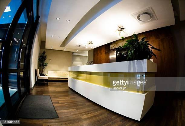 Corporate reception