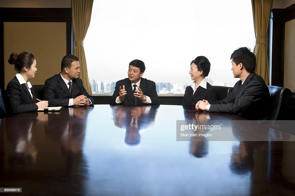 Corporate Team in the Boardroom
