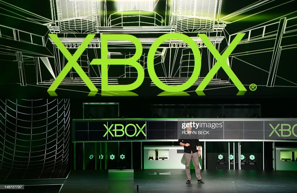 Corporate Vice President of Microsoft Studios Phil Spencer speaks at the Microsoft Xbox E3 2012 media briefing in Los Angeles, California, on June 4, 2012. The Electronic Entertainment Expo (E3), the video game industry's biggest event, runs from June 5-7 in Los Angeles.