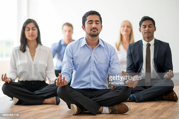 Corporate Yoga Class