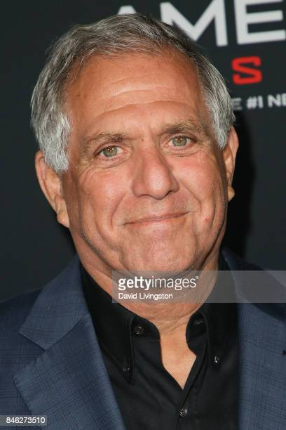 Corporation Leslie Moonves attends a Screening of CBS Films and Lionsgate's 'American Assassin' at TCL Chinese Theatre on September 12 2017 in...
