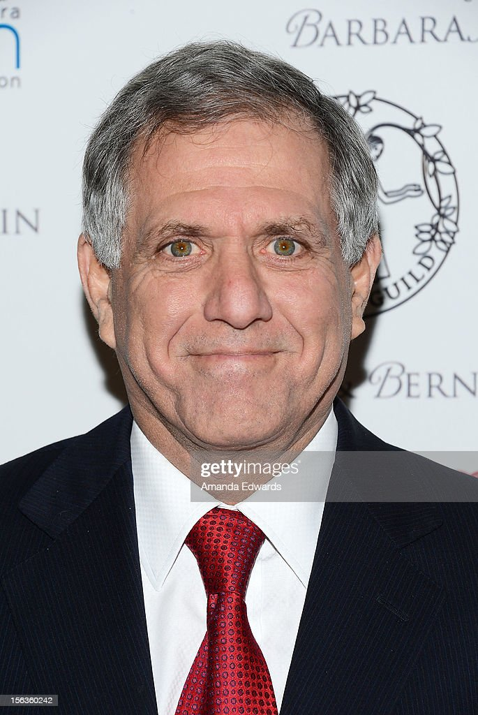 CBS Corporation President and CEO Leslie Moonves arrives at the 55th Annual Women's Guild Cedars-Sinai Anniversary Gala at the Beverly Wilshire Four Seasons Hotel on November 13, 2012 in Beverly Hills, California.