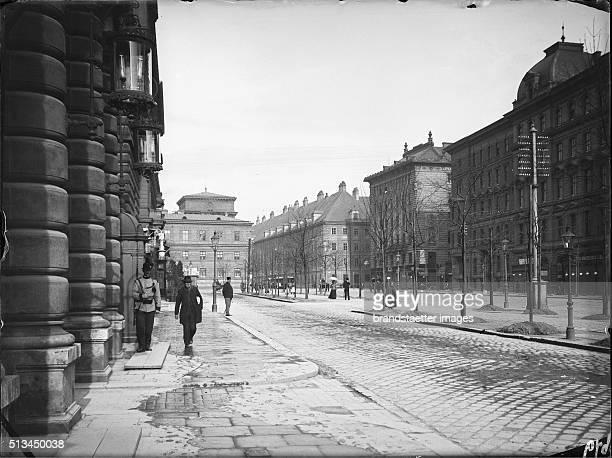 Corps Command Building Vienna on Universitätsstraße circa 1900 By Karl Demel
