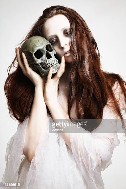 Corpse Bride With Skull