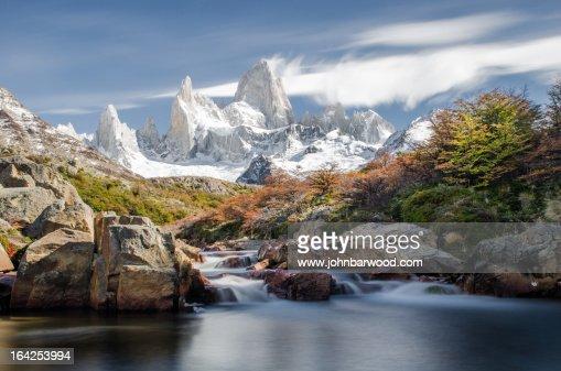 Corre Fitz Roy in Patagonia, Argentina