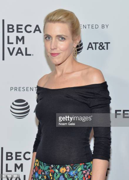 Correspondent Clarissa Ward attends 'The Last Animals' Premiere during 2017 Tribeca Film Festival at Cinepolis Chelsea on April 22 2017 in New York...
