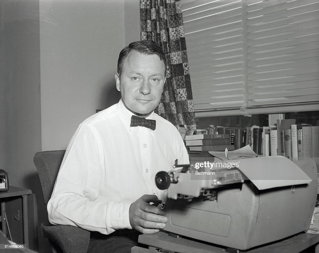 Correspondent James Reston shown in file photo was awarded the Pulitzer Prize for National Affairs Reporting 'for his distinguished national...