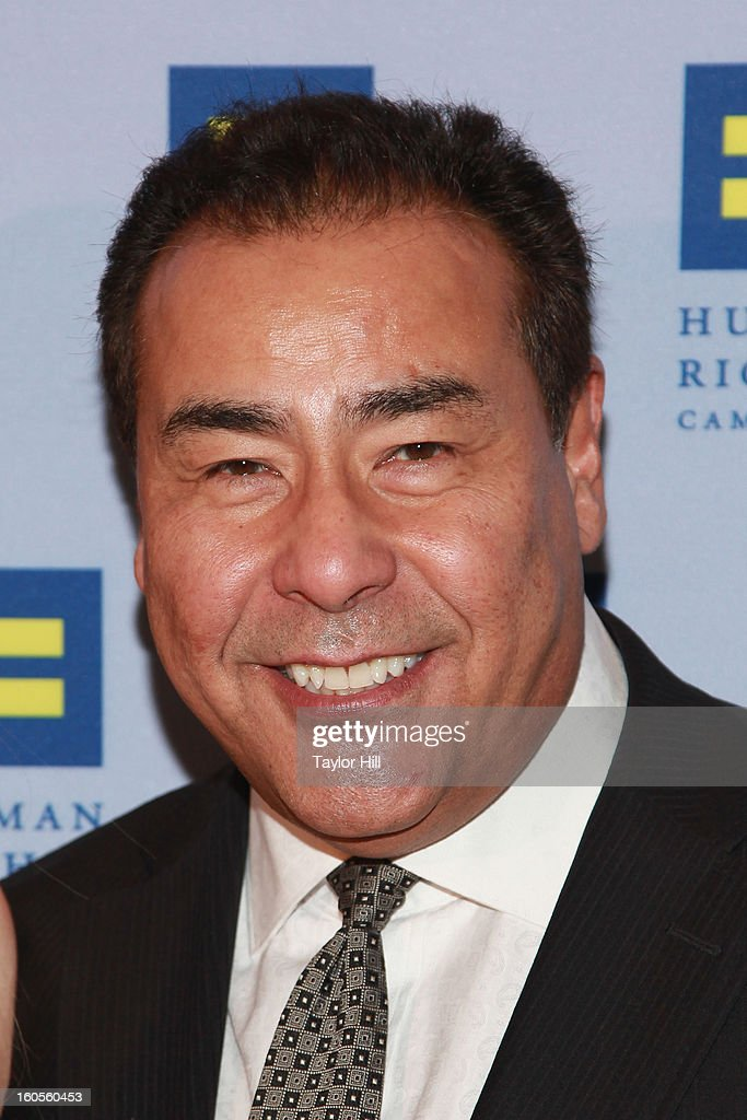 TV correspondent John Quinones attends The 2013 Greater New York Human Rights Campaign Gala at The Waldorf=Astoria on February 2 2013 in New York City