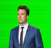 Comedian Jordan Klepper speaks at 'The Daily Show with Trevor Noah Presents The 2016 Democratic National Convention Let's Not Get Crazy' more to come...