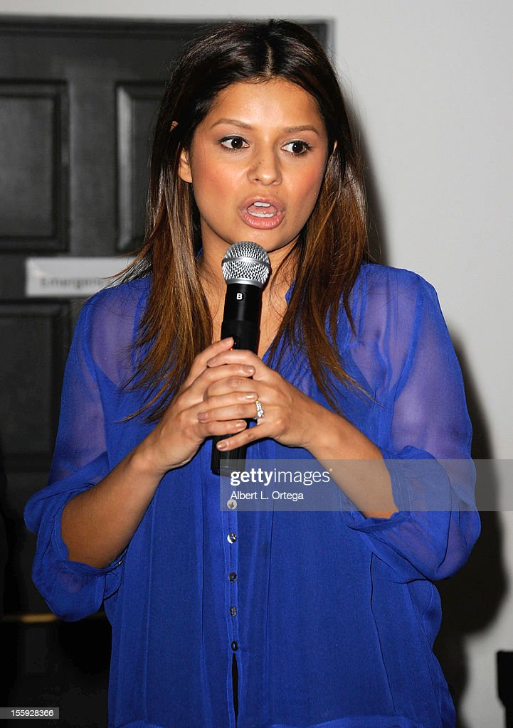 Correspondent Kristina Guerrero participates in Food On Foot's 'Hot Latin Nights' held at Casa Azul Cantina on November 8, 2012 in Los Angeles, California.