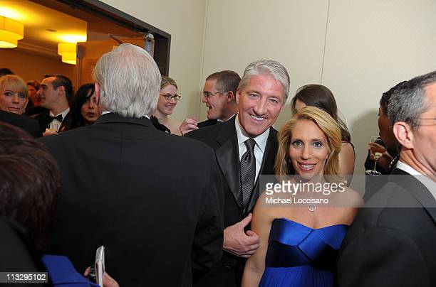 Correspondents John King and Dana Bash attend the TIME/CNN/People/Fortune White House Correspondents' dinner cocktail party at the Washington Hilton...
