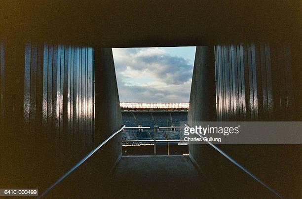 Corridor in stadium