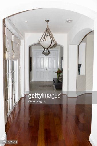 Corridor of a house : Stock Photo